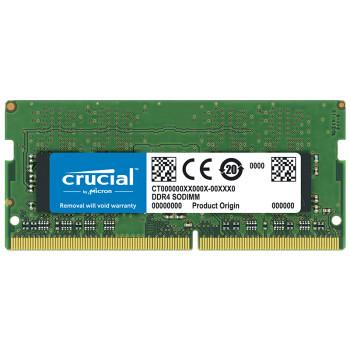 crucial 英睿达 DDR4 2666MHz 笔记本内存 8GB 162元包邮
