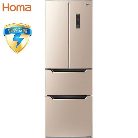 百亿补贴: Homa 奥马 BCD-252WF/B 四门冰箱 1689元包邮