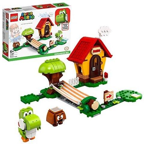 百亿补贴: LEGO 乐高 超级马力欧 71367 马力欧的房屋与耀西 162元包邮