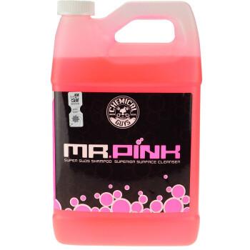 27日0点、历史低价: CHEMICAL GUYS 化学小子 CWS_402 粉红先生 汽车洗车液 3.78L*4瓶 700元包邮(合175元/瓶)