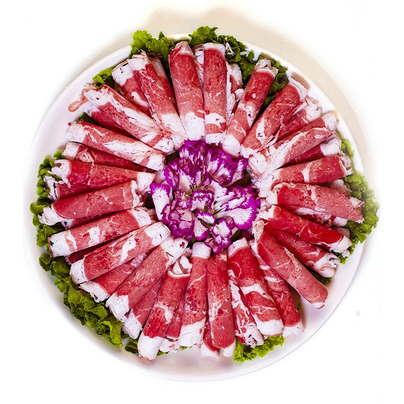 27日0点:LAOHEQIAO涝河桥 宁夏滩羊原切羊肉卷260g 46.8元,可低至23.4元