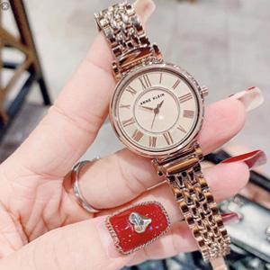 新低价!Anne Klein安妮·克莱因 AK/2158RGRG 手链手表 玫瑰金色 凑单到手约¥207.51