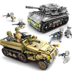 移动专享: SEMBO BLOCK 森宝积木 钢铁帝国 坦克军团 1061颗粒 31.9元包邮(需用券,2人成团)