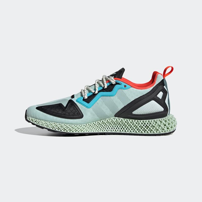 10日0点、双12预告:adidas 阿迪达斯 三叶草 ZX 2K 4D FV8500 男女款运动鞋 759元包邮(需用券)