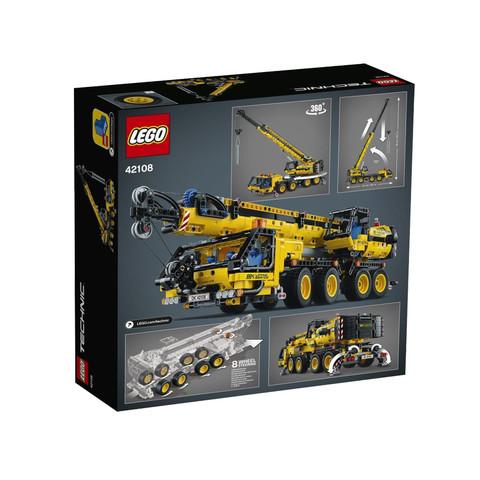 10日0点、考拉海购黑卡会员: LEGO 乐高 机械组系列 42108 移动起重机 556元包邮(前2小时)