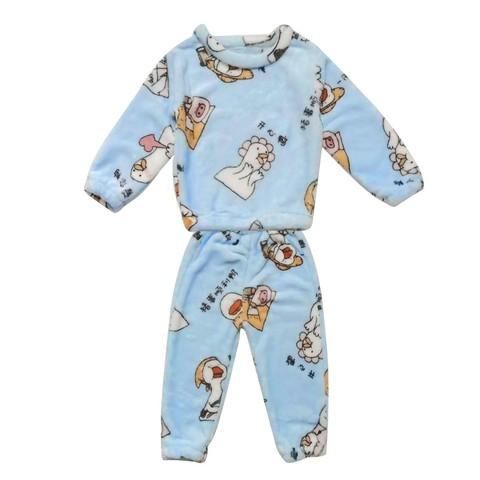 兜娃熊 儿童法兰绒睡衣套装 29元包邮(需用券)