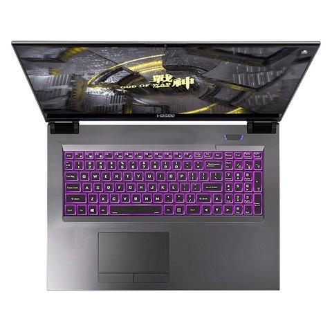 Hasee 神舟 战神 Z9-CU7PS 15.6英寸笔记本电脑 (i7-10750H、16GB、512GB、RTX 2070、144Hz) 8189元包邮