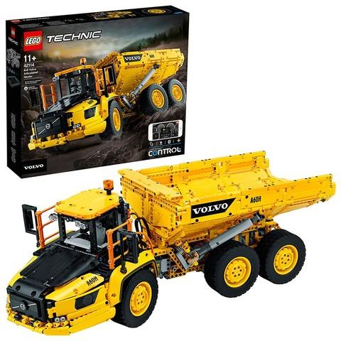 21日0点、考拉海购黑卡会员: LEGO 乐高 机械组系列 42114 6x6 沃尔沃铰接式拖车 1399元包邮包税(需用券)