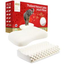21日0点、考拉海购黑卡会员: TAIPATEX 天然乳胶枕按摩护颈枕+高低颗粒按摩枕 289元包邮(限前2小时)