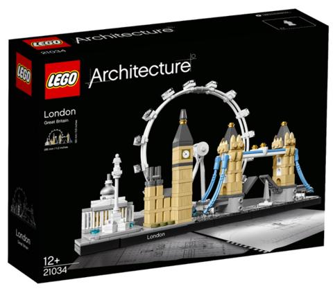 21日0点、考拉海购黑卡会员: LEGO 乐高 Architecture 建筑系列 21034 伦敦街景 228元包邮包税