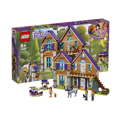 21日0点、考拉海购黑卡会员: LEGO 乐高 Friends 好朋友系列 41369 米娅的林中别墅 *3件 1060.25元包邮包税(合353.42元/件)