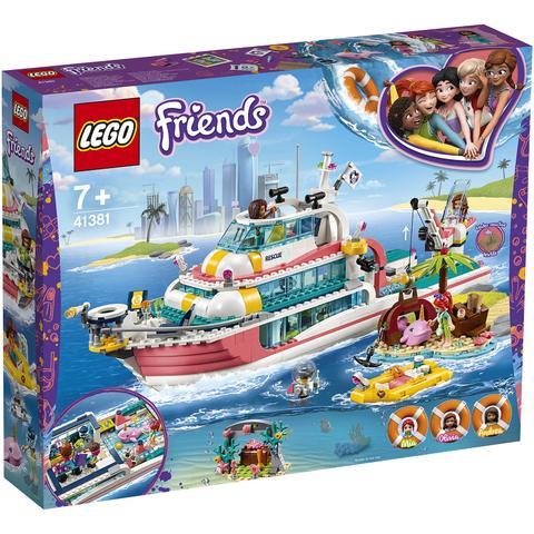 21日0点、考拉海购黑卡会员: LEGO 乐高 好朋友系列 41381 海上爱心救援船 *2件 1038元包邮包税(合519元/件)