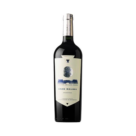 21日0点、88VIP: LAFITE 拉菲 安第斯之箭马尔贝克干红葡萄酒 750ml *5件 301.15元包邮(多重优惠)