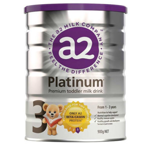 A2 白金系列婴幼儿配方奶粉3段 900g 凑单到手AU$39.95(约¥200)