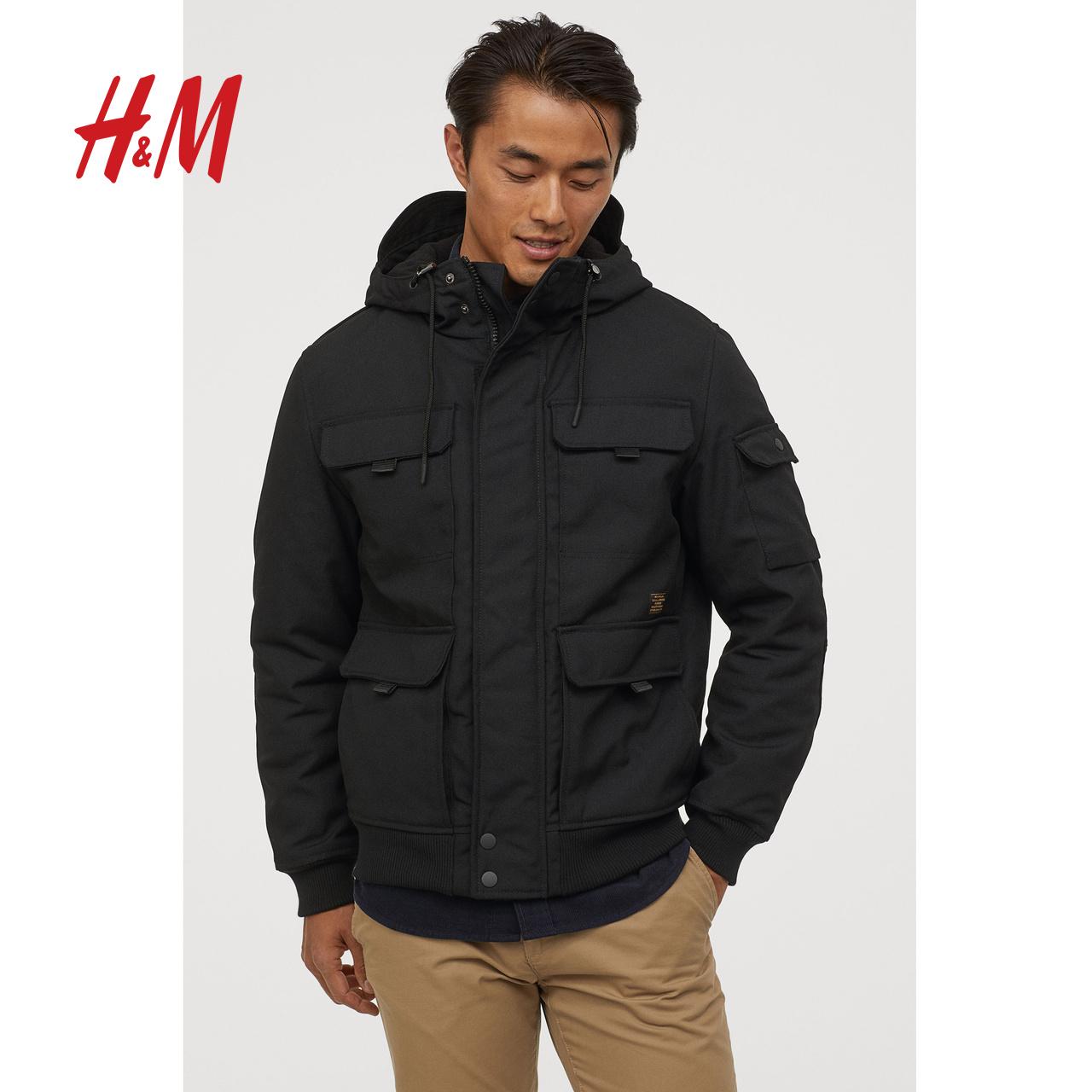 HM 0762174 男士派克工装棉服 170元(需用券)