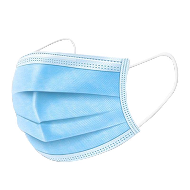 一家 一次性 三层防护口罩 100只 13.9元(需用券)