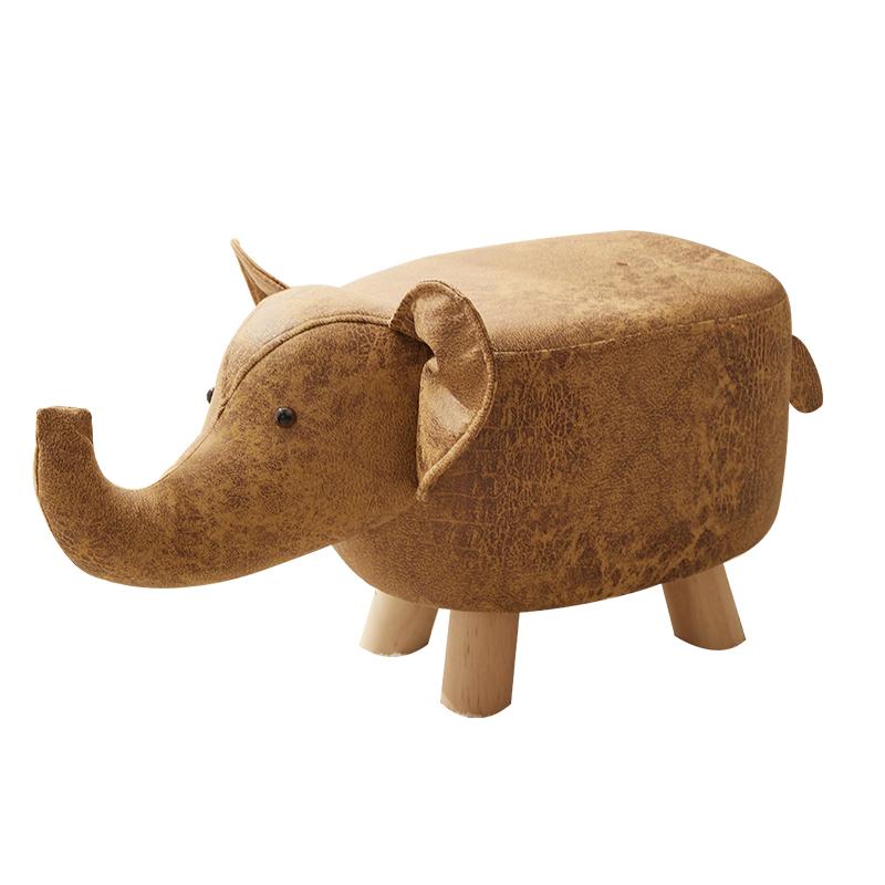 福尊 实木动物卡通矮凳 38元包邮