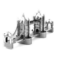国伟玩具 3D立体金属拼图 成人手工diy 伦敦塔桥 8.8元包邮