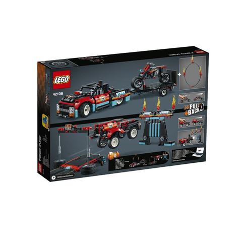 考拉海购黑卡会员: LEGO 乐高 机械组系列 42106 特技表演卡车和摩托车 低至287.28元