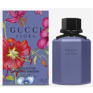 降价!2020限量版 Gucci古驰 紫瓶香水 Flora Gorgeous Gardenia 50ml 直邮港澳485港币(约437元)