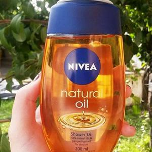 Nivea妮维雅 Nature Oil 盈润沐浴油 200ml*6瓶 卸身体防晒