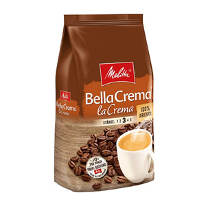 Melitta美乐家 Bella Crema 中度烘焙 100%阿拉比卡咖啡豆1000g