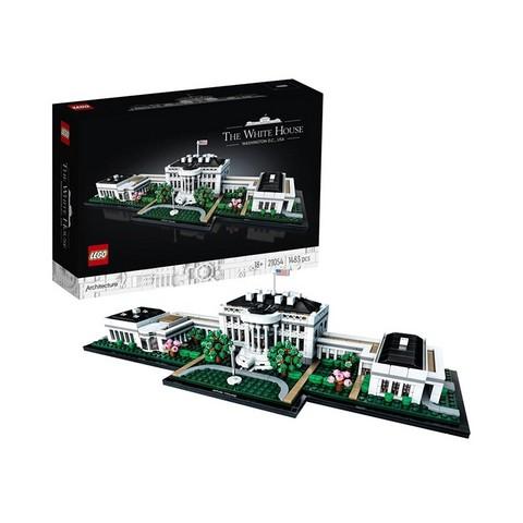百亿补贴: LEGO 乐高 建筑系列 21054 美国白宫