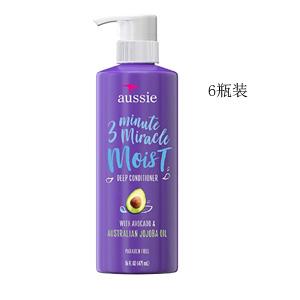 Aussie袋鼠 3分钟奇迹滋润护发素 475ml*6个装