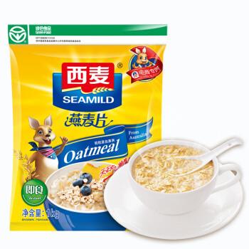 百亿补贴: SEAMILD 西麦 即食燕麦片 1kg*2袋