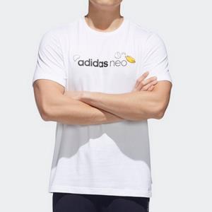 adidas阿迪达斯GP5905懒蛋蛋联名系列男款运动T恤